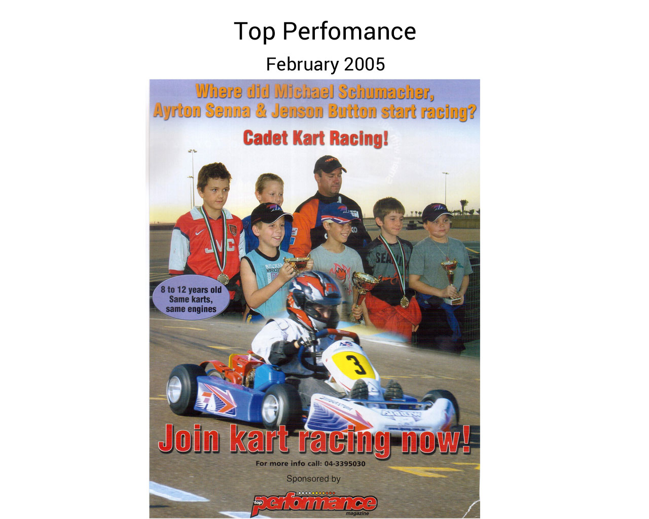 Top Performance February 2005