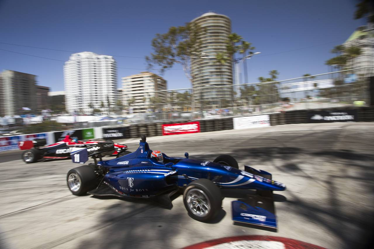 Ed Jones Indy Lights Long Beach 14