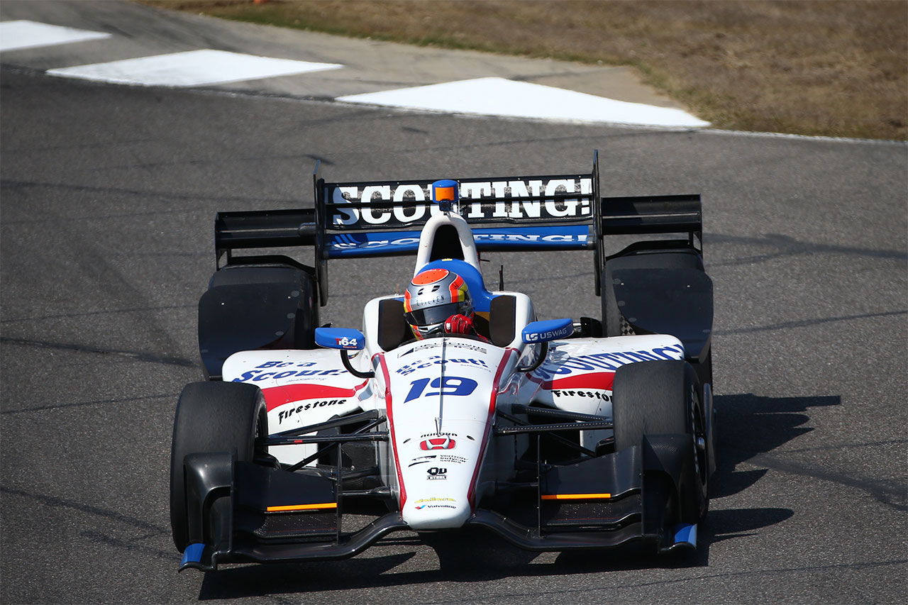 Ed Jones Indycar Grand Prix Of Alabama 2