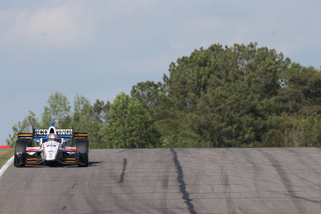 Ed Jones Indycar Grand Prix Of Alabama 4