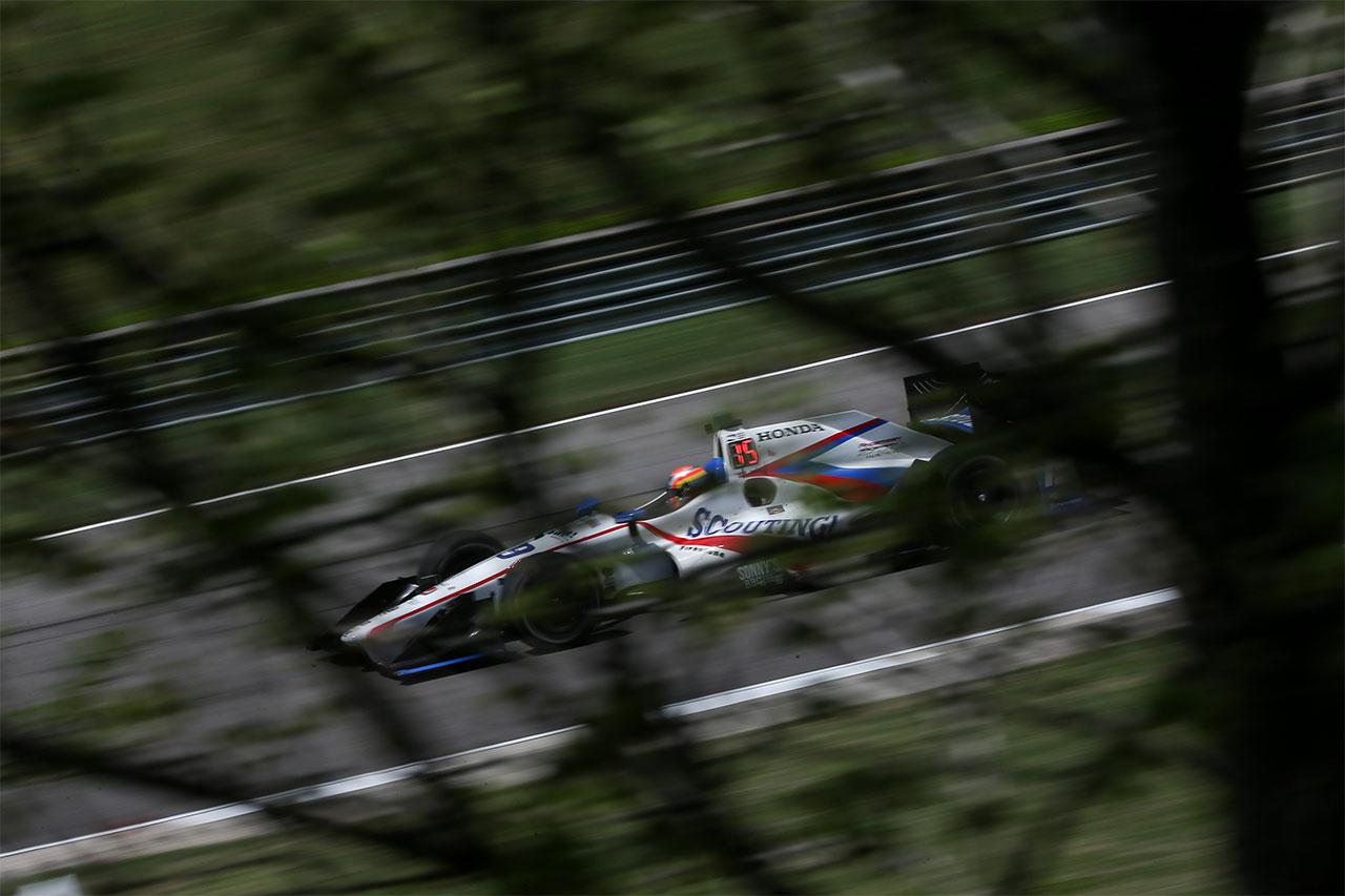 Ed Jones Indycar Grand Prix Of Alabama 7