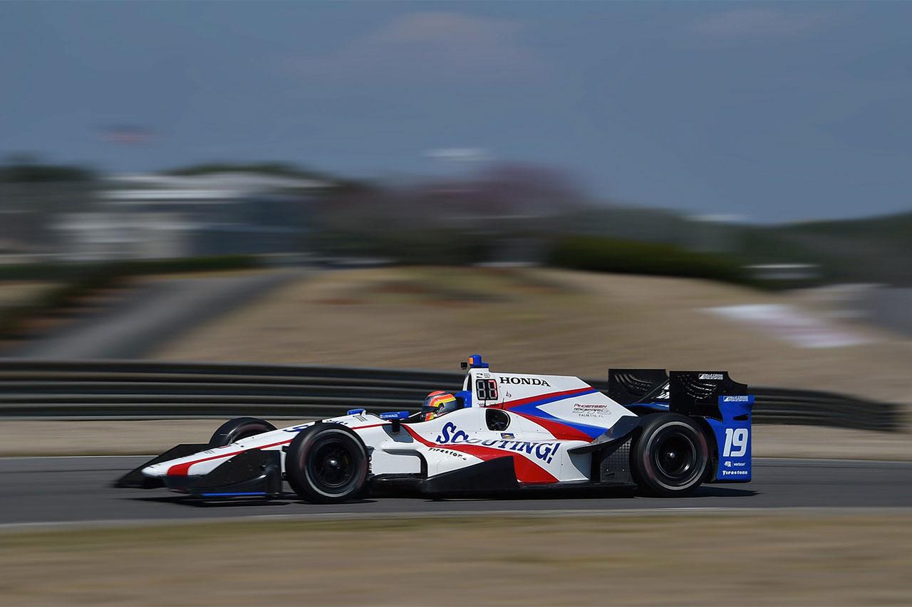 Ed Jones Indycar Grand Prix Of Alabama