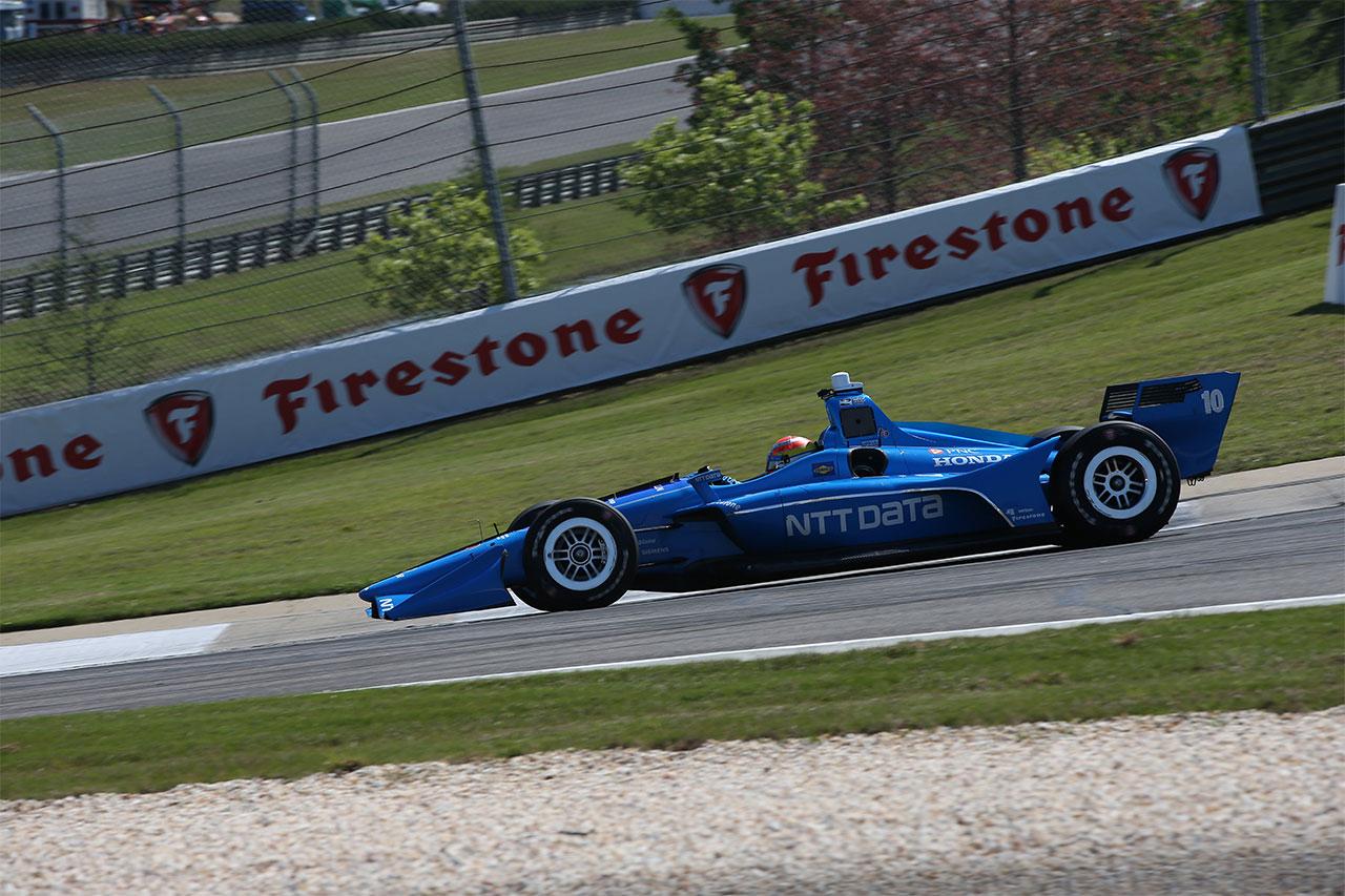 Ed Jones Chip Ganassi Racing Verizon IndyCar Series Barber Motorsports Park 1