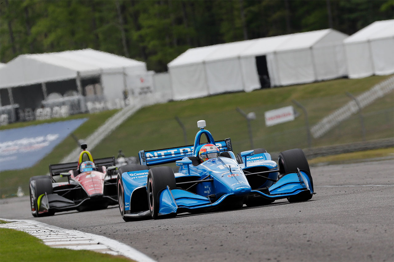 Ed Jones Chip Ganassi Racing Verizon IndyCar Series Barber Motorsports Park 2