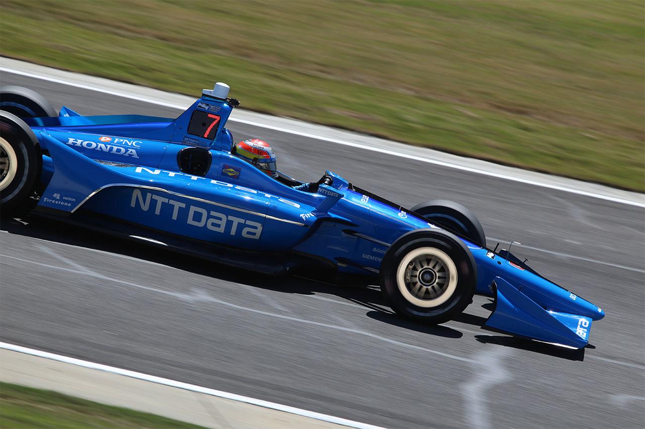 Ed Jones Chip Ganassi Racing Verizon IndyCar Series Barber Motorsports Park 8