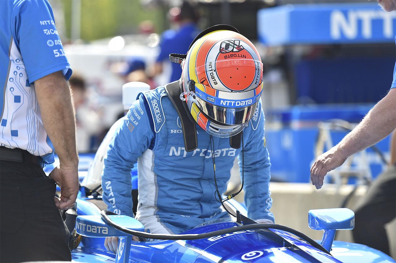 Ed Jones Chip Ganassi Racing Verizon IndyCar Series Barber Motorsports Park 9