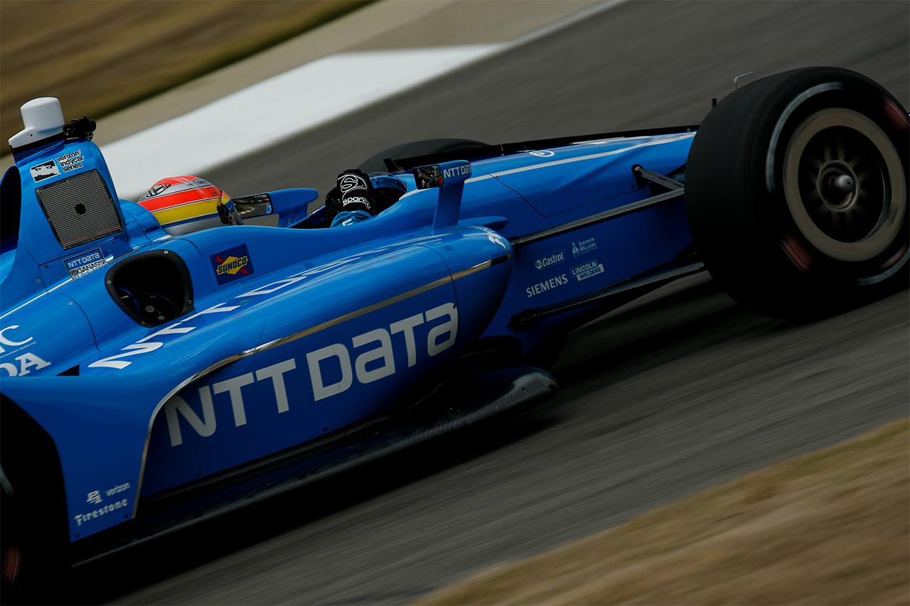 Ed Jones Chip Ganassi Racing Verizon IndyCar Series Barber Motorsports Park