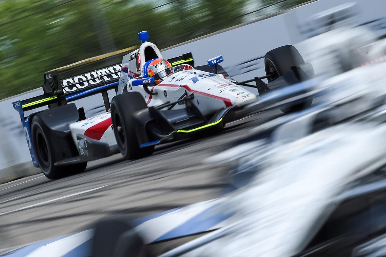 Ed Jones Indycar Detroit 2017 1