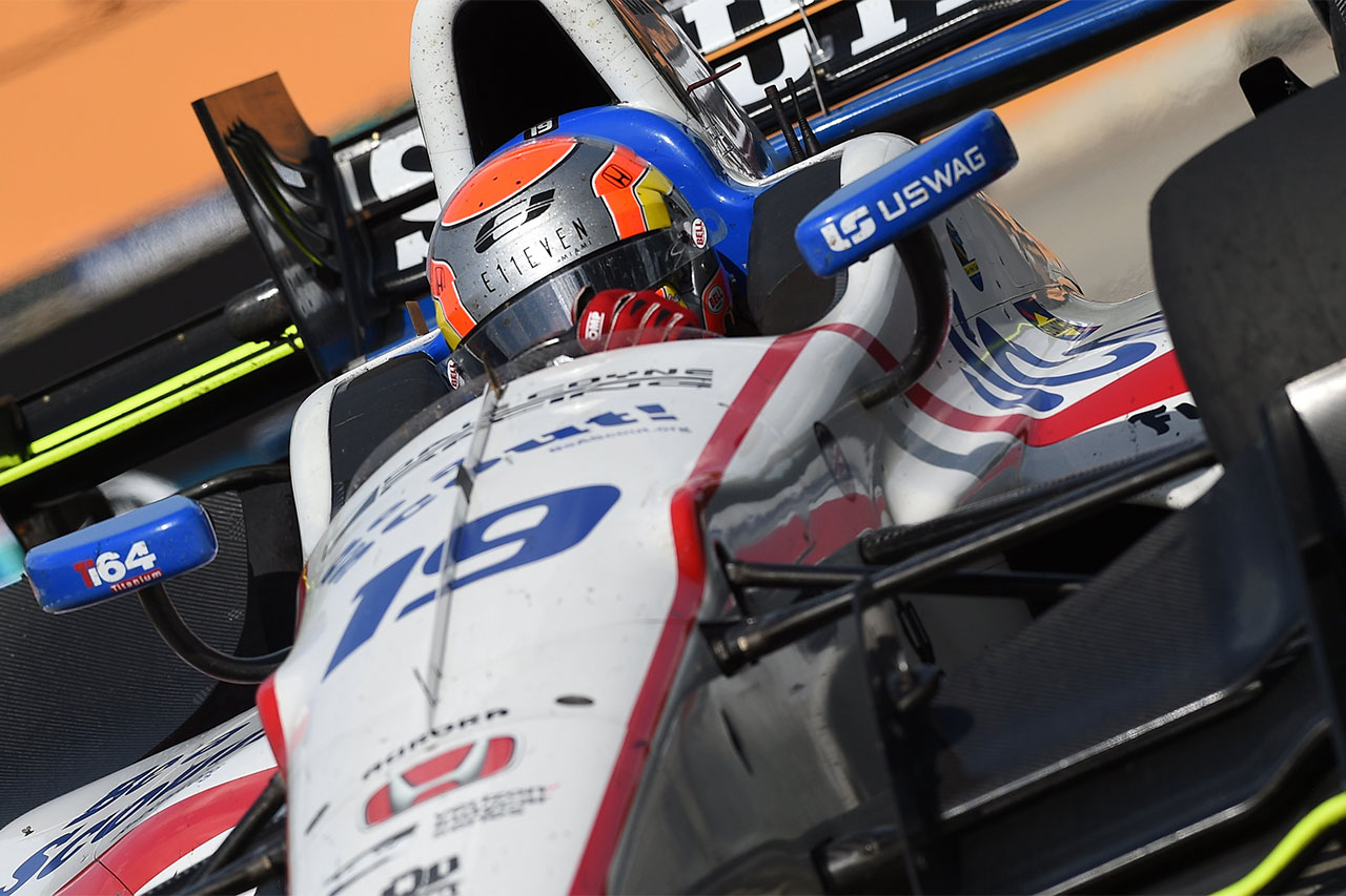 Ed Jones Indycar Detroit 2017 2