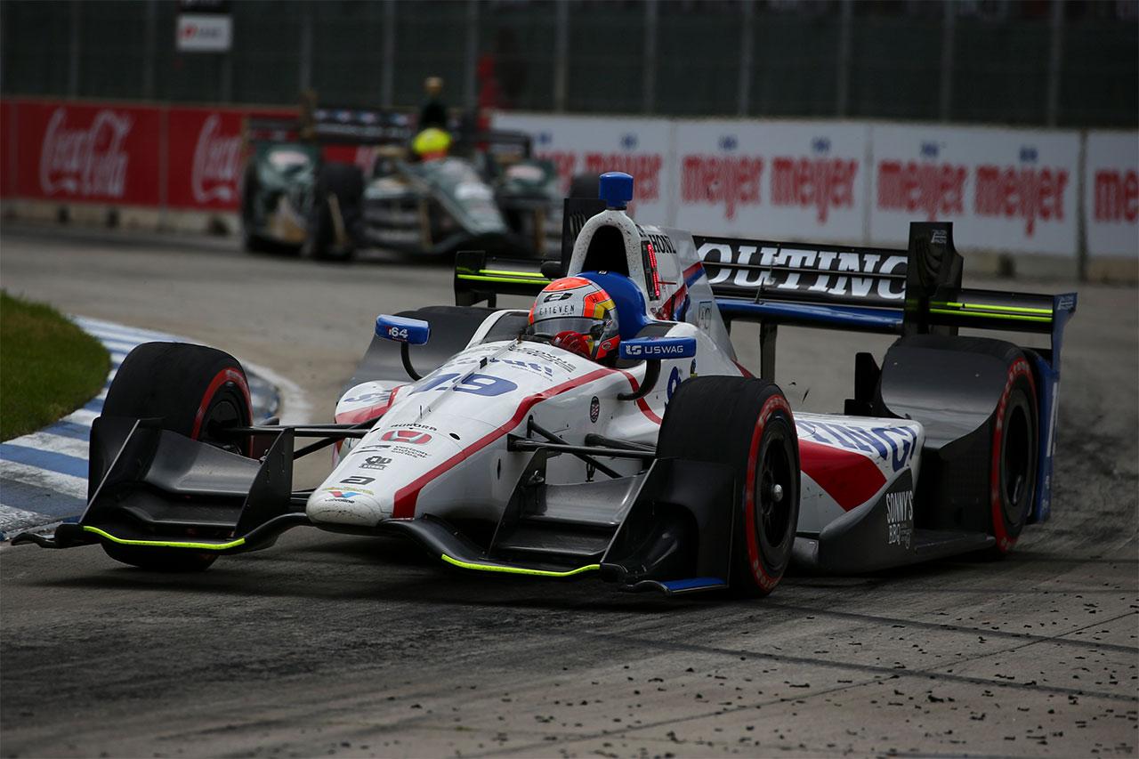 Ed Jones Indycar Detroit 2017 4