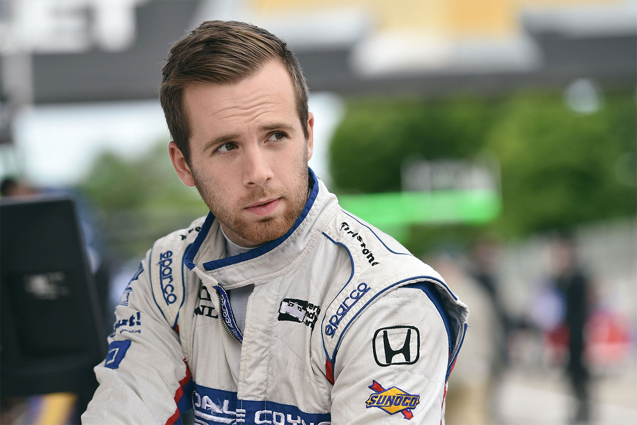 Ed Jones Indycar Detroit 2017