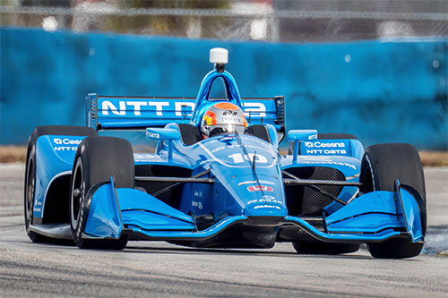 Jones loving life at Ganassi as he targets IndyCar wins in 2018