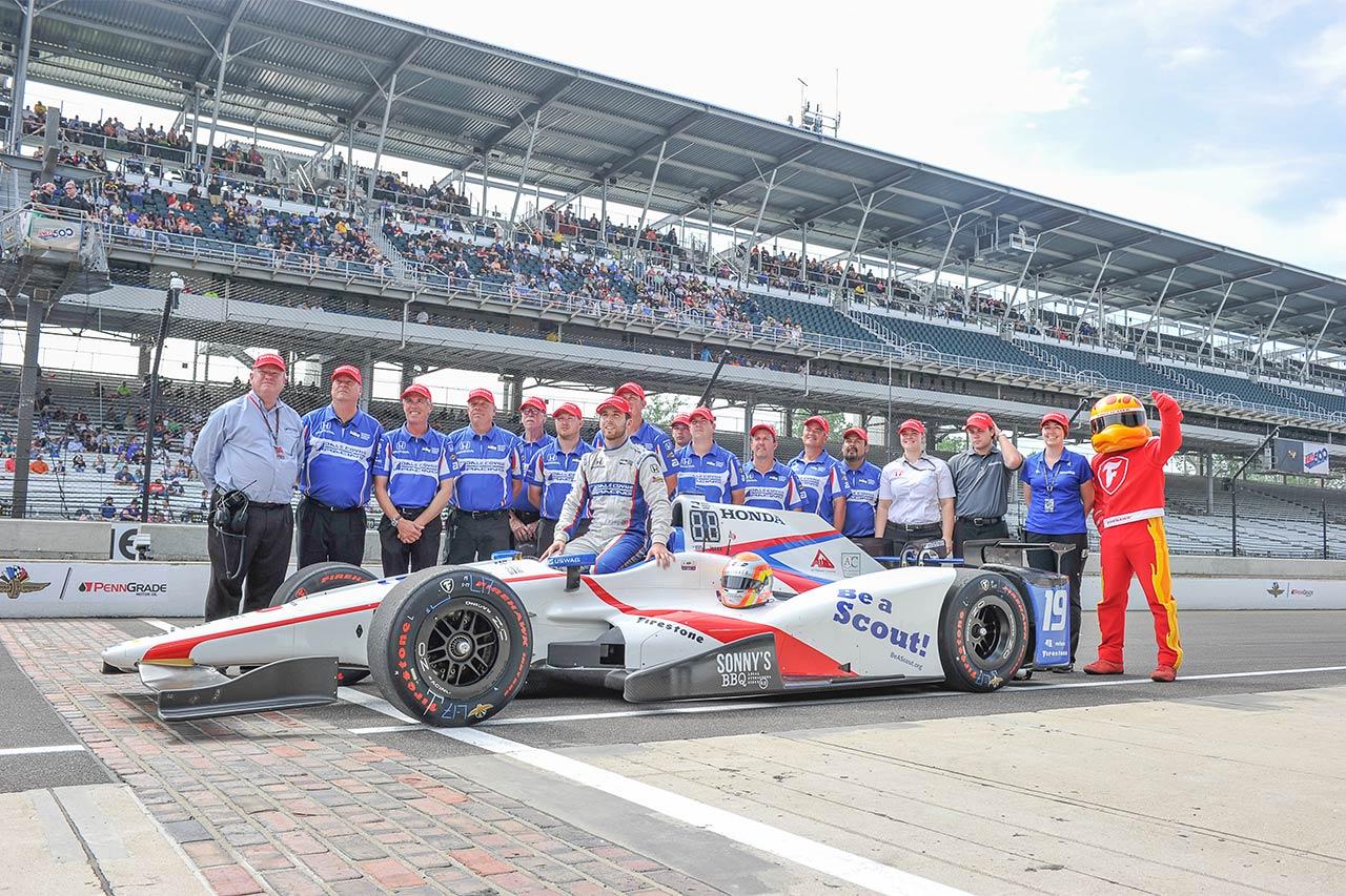 Ed Jones Indy 500 2017 4