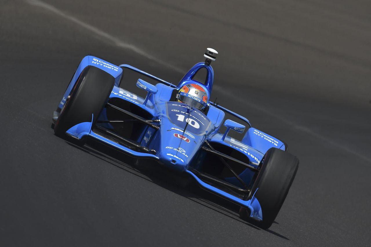 Ed Jones Chip Ganassi Racing Verizon IndyCar Series Indy 500 Qualifying 2018 003