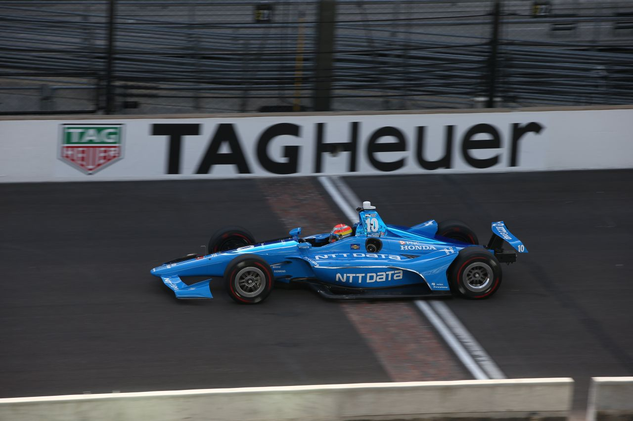 Ed Jones Chip Ganassi Racing Verizon IndyCar Series Indy 500 Qualifying 2018 004
