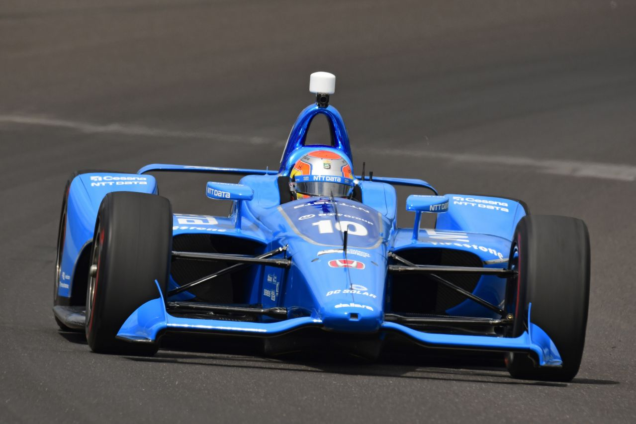 Ed Jones Chip Ganassi Racing Verizon IndyCar Series Indy 500 Qualifying 2018 006