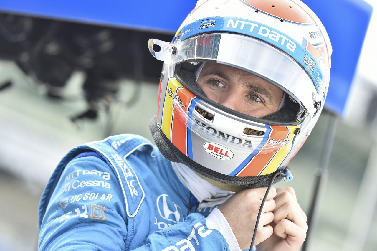 Ed Jones Chip Ganassi Racing Verizon IndyCar Series Indy 500 Qualifying 2018 012
