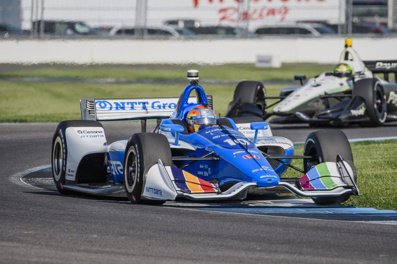 Ed Jones Chip Ganassi Racing Verizon IndyCar Series Indy GP 2018 005