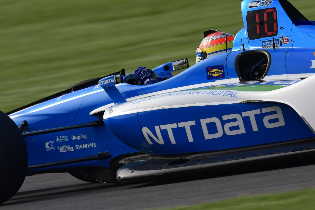 Ed Jones Chip Ganassi Racing Verizon IndyCar Series Indy GP 2018 009