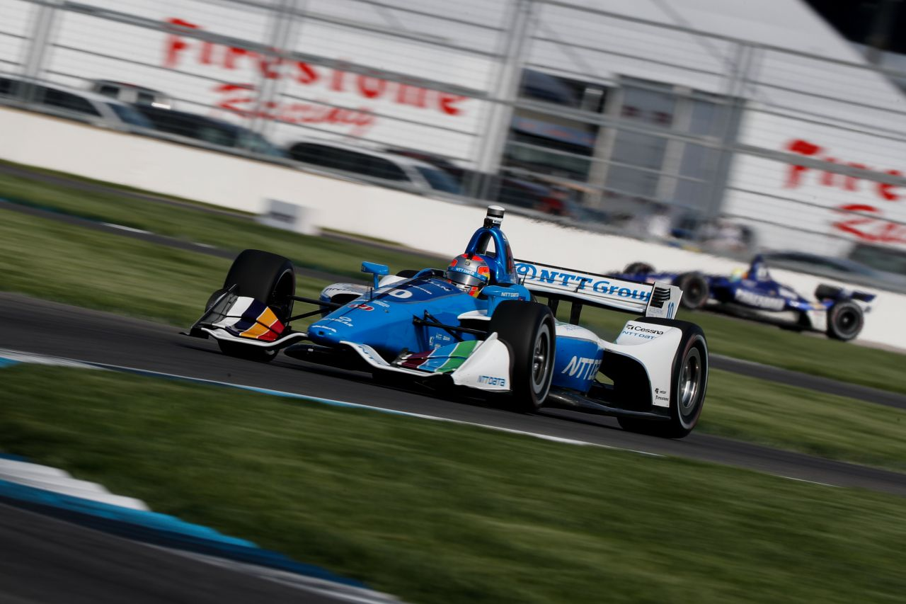 Ed Jones Chip Ganassi Racing Verizon IndyCar Series Indy GP 2018 010