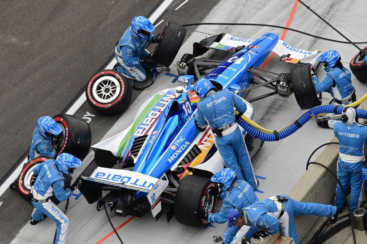 Ed Jones Chip Ganassi Racing Verizon IndyCar Series Indy GP 2018 011