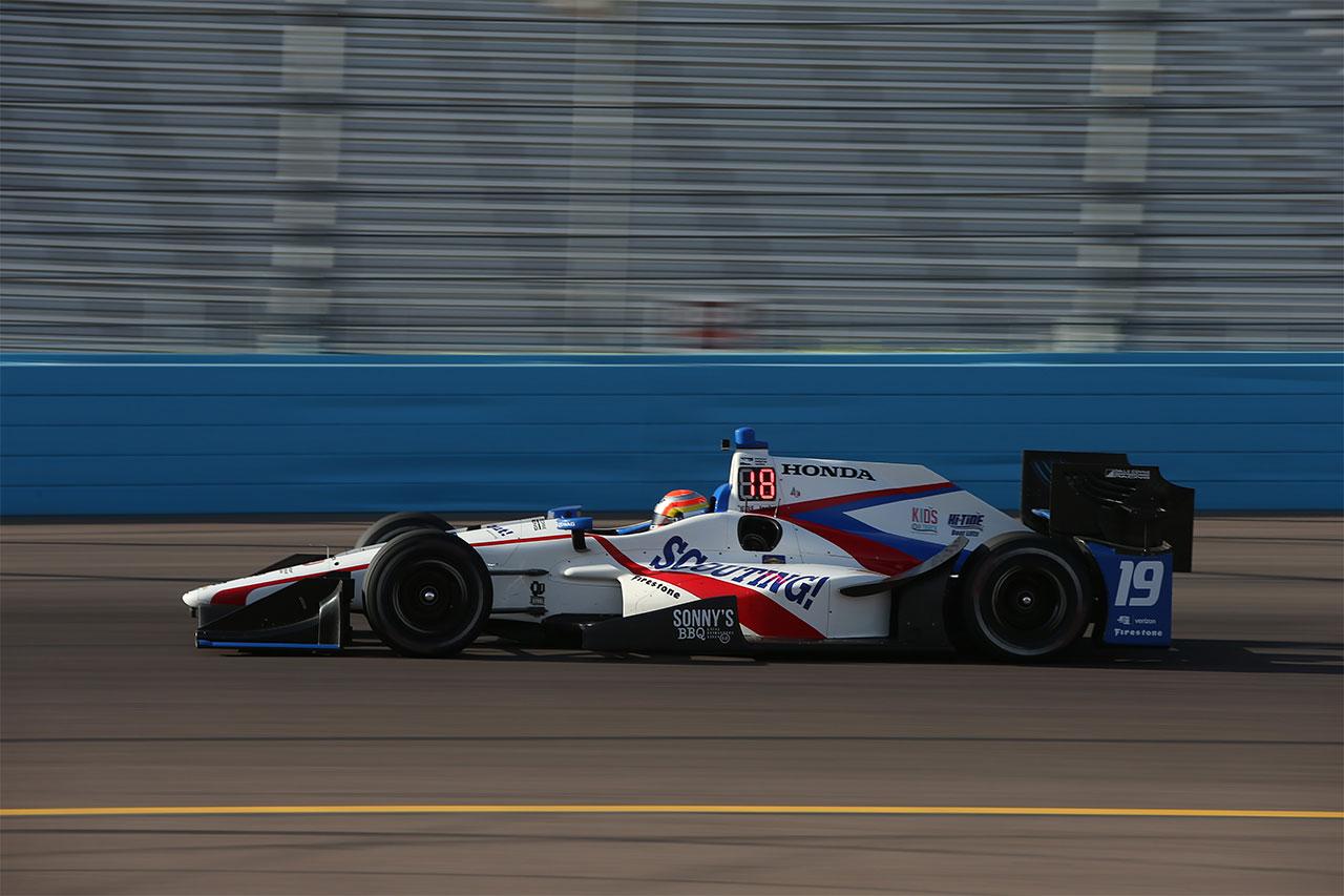 Ed Jones IndyCar Grand Prix Phoenix 1