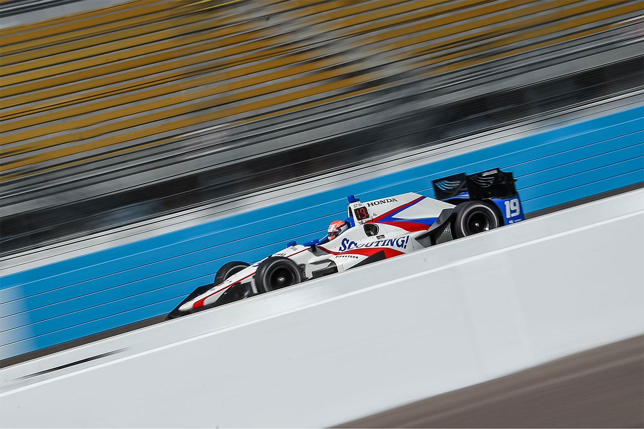 Ed Jones IndyCar Grand Prix Phoenix