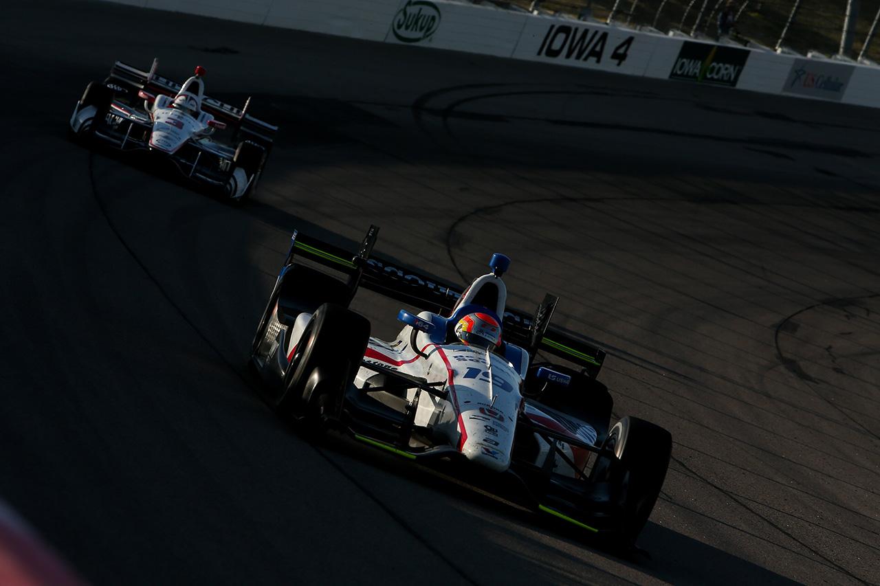 Ed Jones Indycar Iowa 4