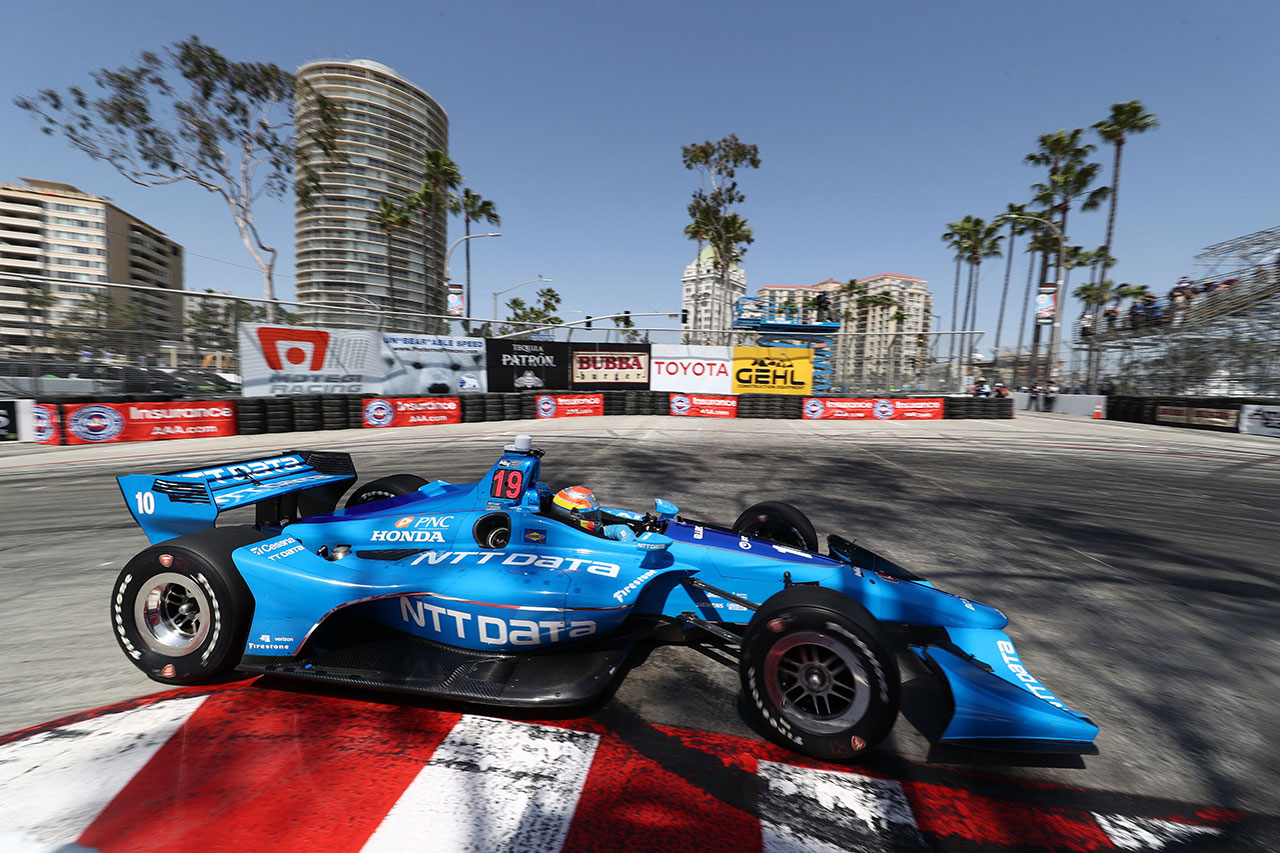 Ed Jones Chip Ganassi Racing Verizon IndyCar Series Grand Prix Of Long Beach 5