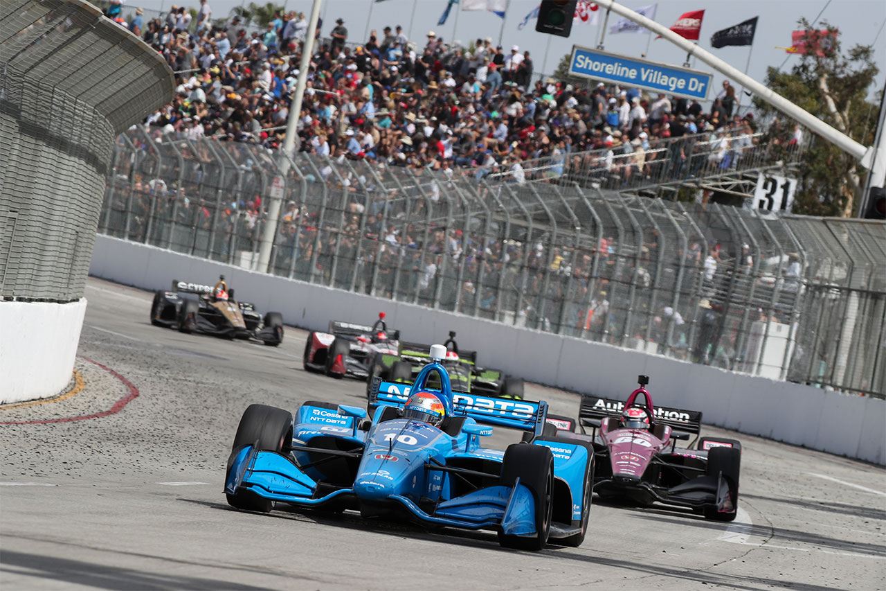 Ed Jones Chip Ganassi Racing Verizon IndyCar Series Grand Prix Of Long Beach 8