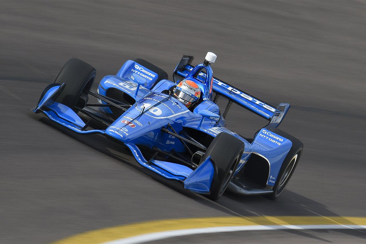 Ed Jones 2018 Indy Car Chip Ganassi Racing Phoenix Test 1