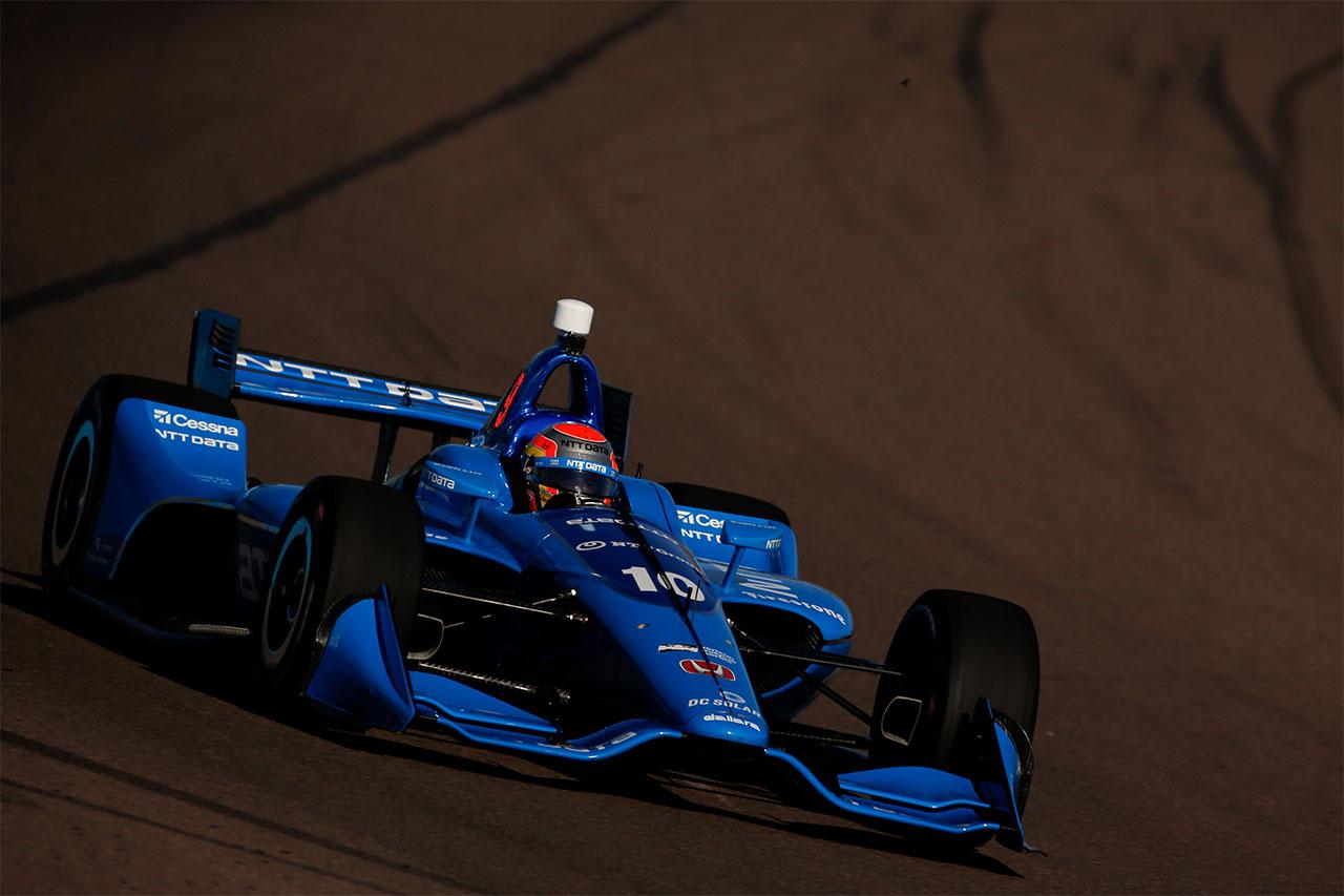 Ed Jones 2018 Indy Car Chip Ganassi Racing Phoenix Test 3
