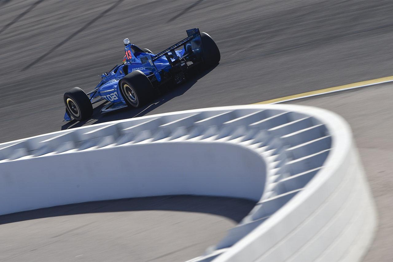 Ed Jones 2018 Indy Car Chip Ganassi Racing Phoenix Test 4