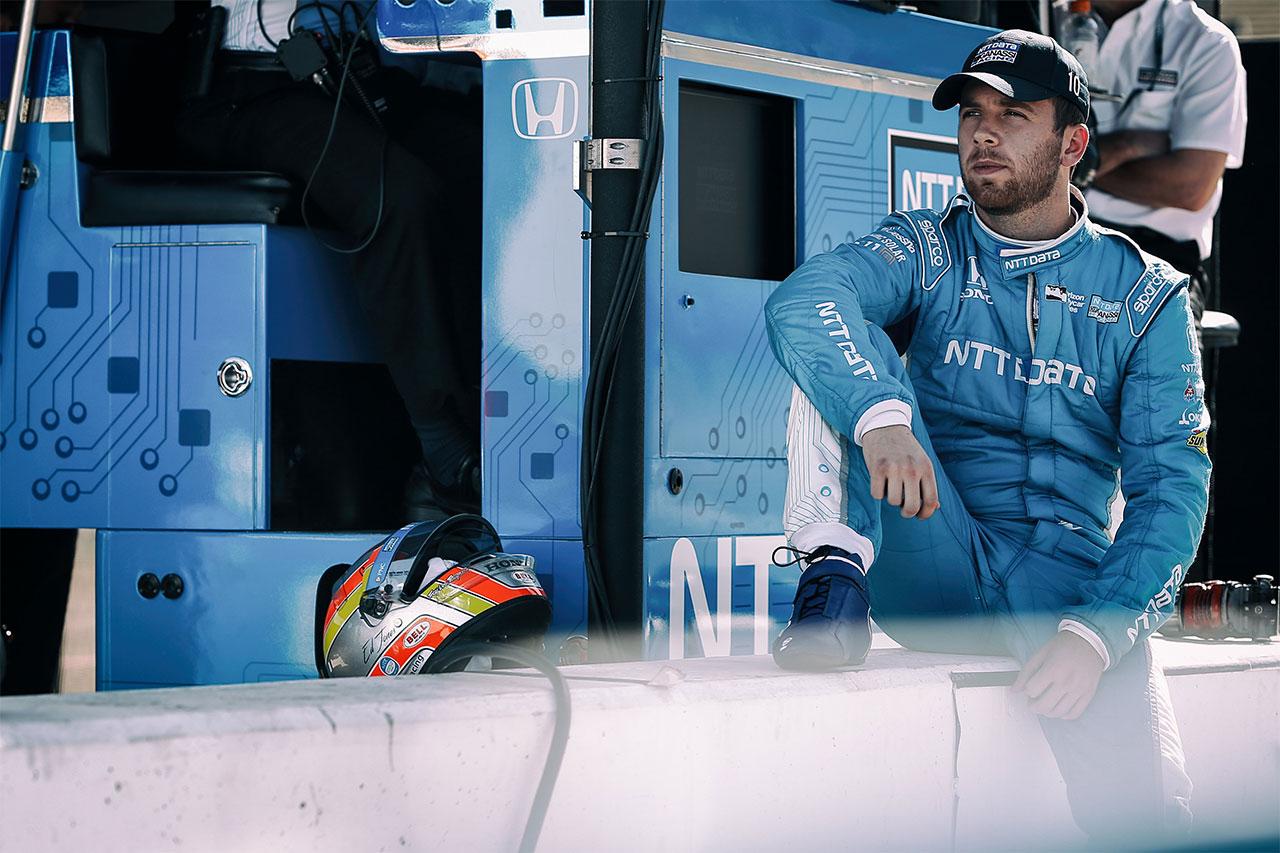 Ed Jones 2018 Indy Car Chip Ganassi Racing Phoenix Test 7