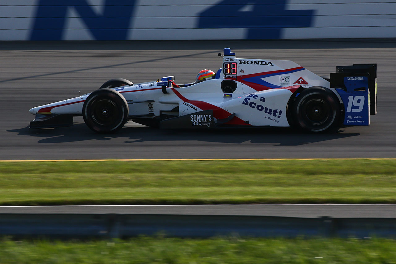 Ed Jones Dale Coyne Racing Indycar ABC Supply 500 At Pocono Raceway 1