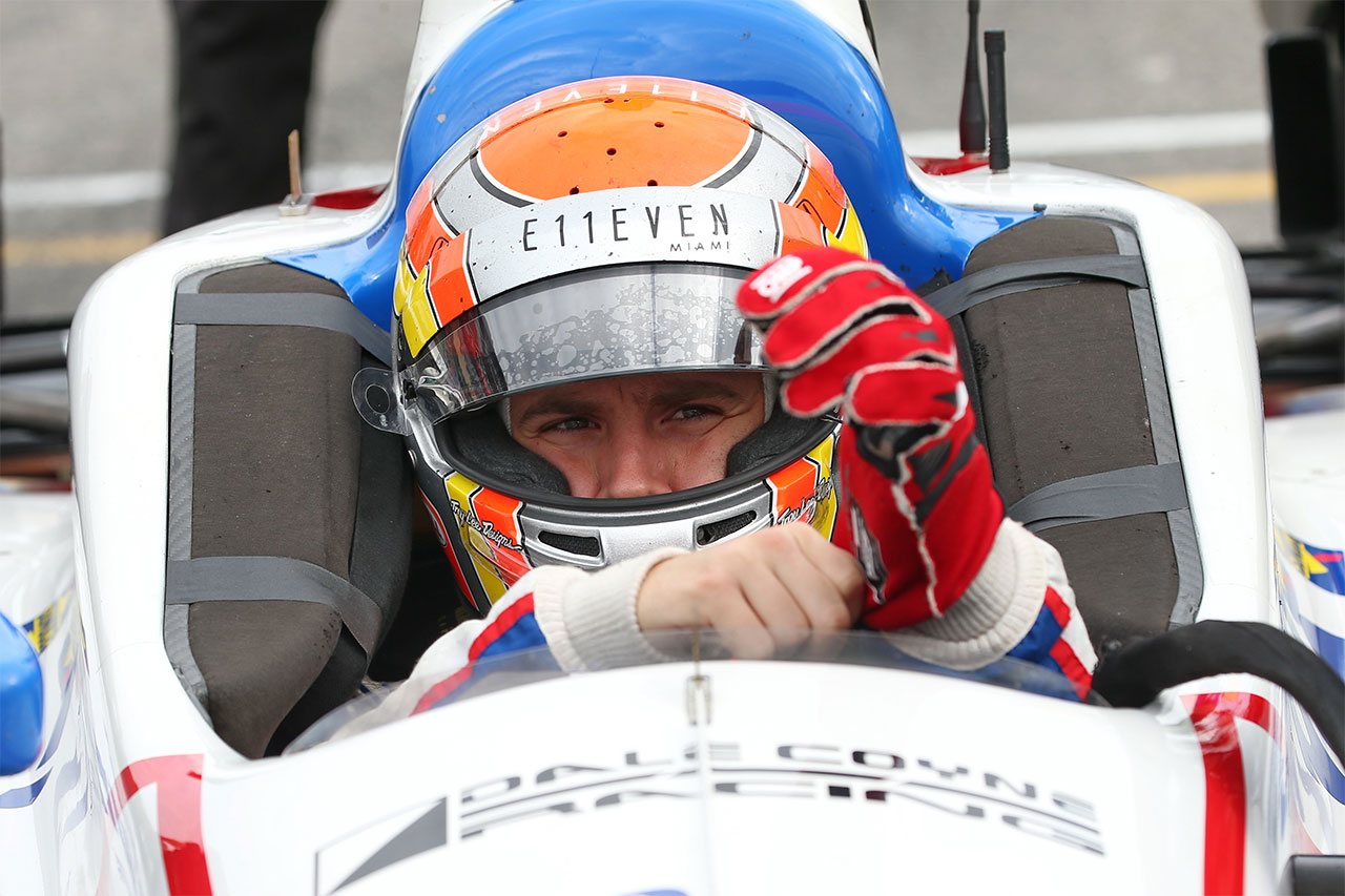Ed Jones Dale Coyne Racing Indycar ABC Supply 500 At Pocono Raceway 2