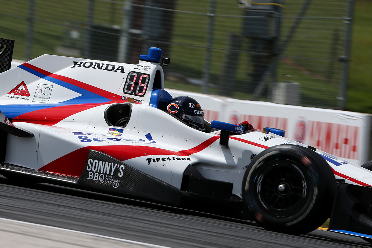 Ed Jones Indycar Road America 2017 2