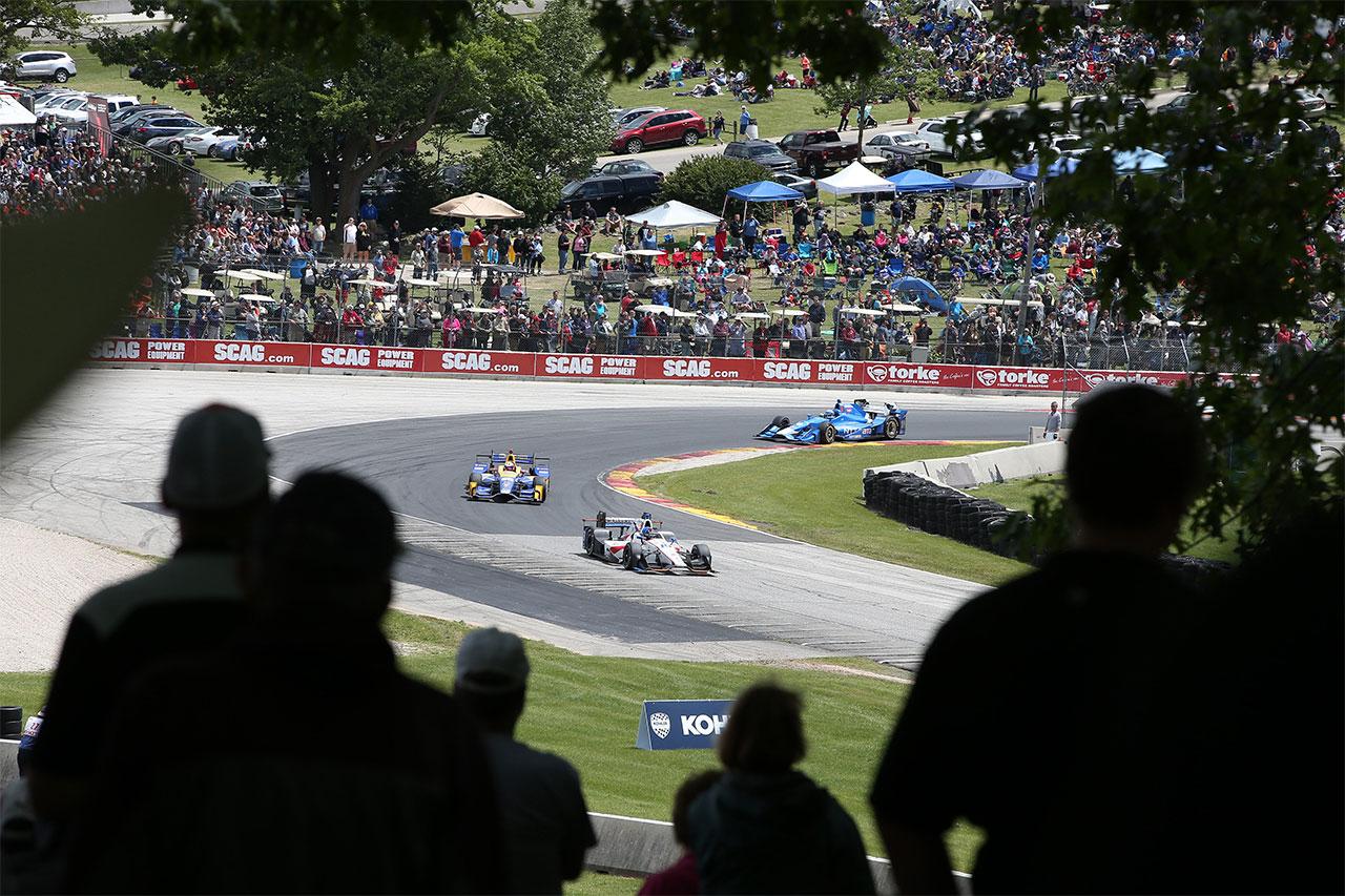 Ed Jones Indycar Road America 2017