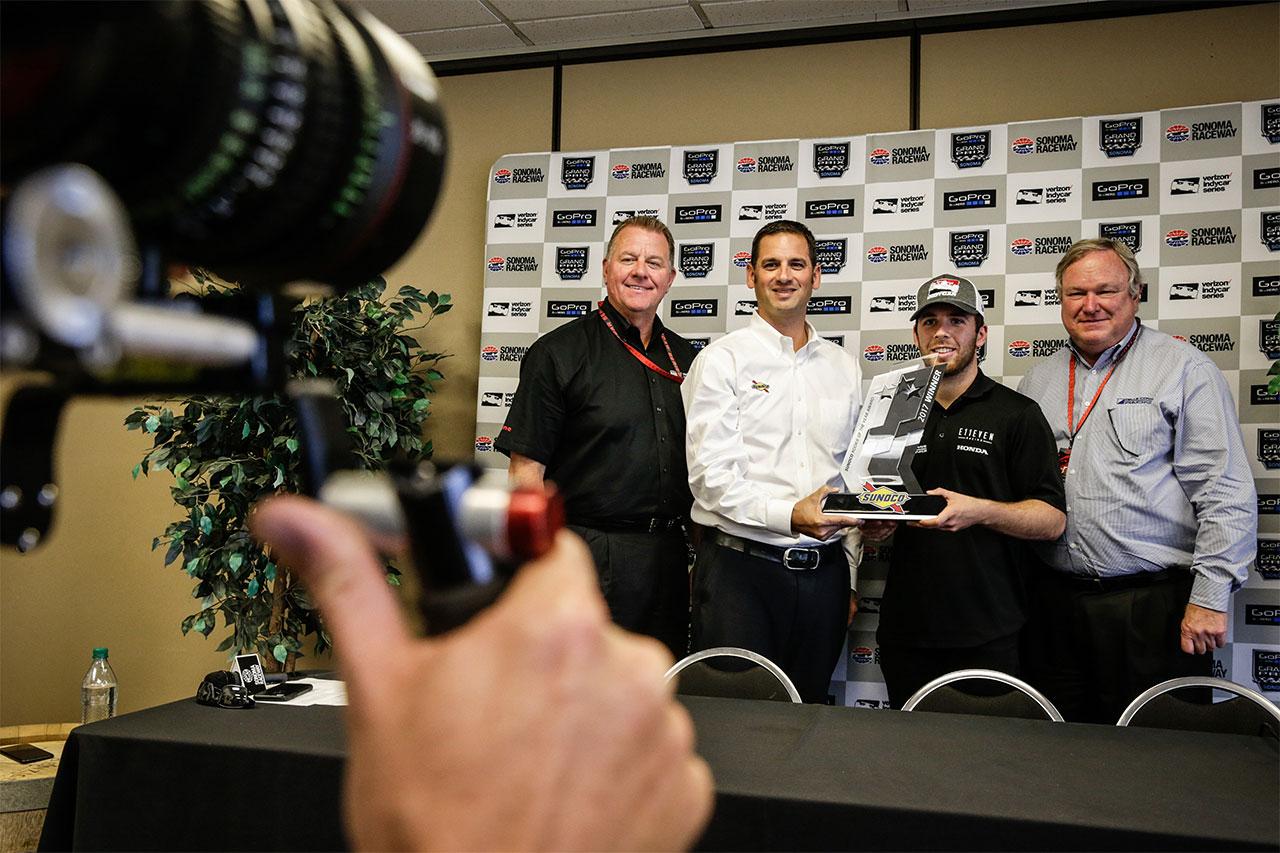 Sonoma Ed Jones Indy Car 1