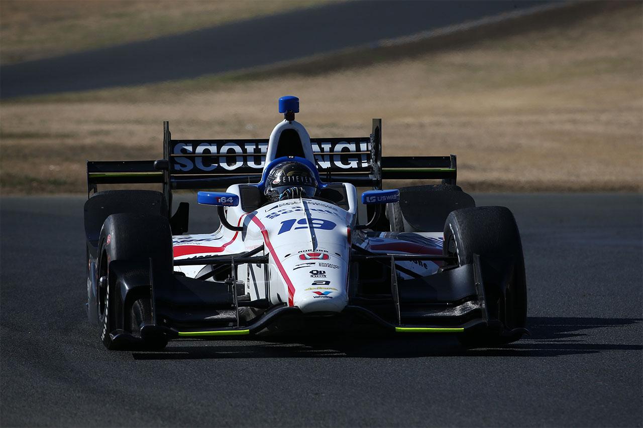 Sonoma Ed Jones Indy Car 7