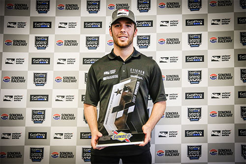 Jones reflects on 'fantastic' rookie season after Californian IndyCar finale