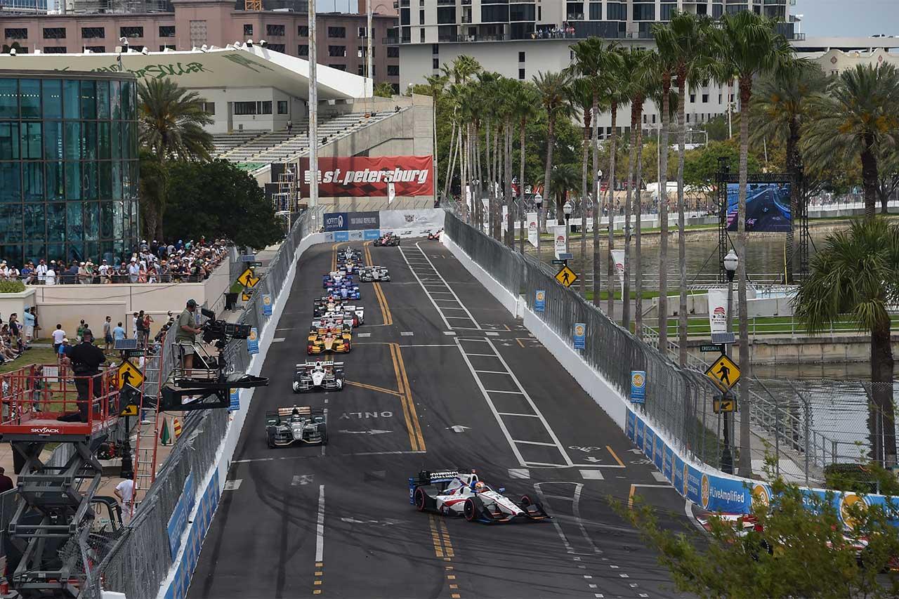 Ed Jones IndyCar Firestone Grand Prix Of St. Petersburg 2