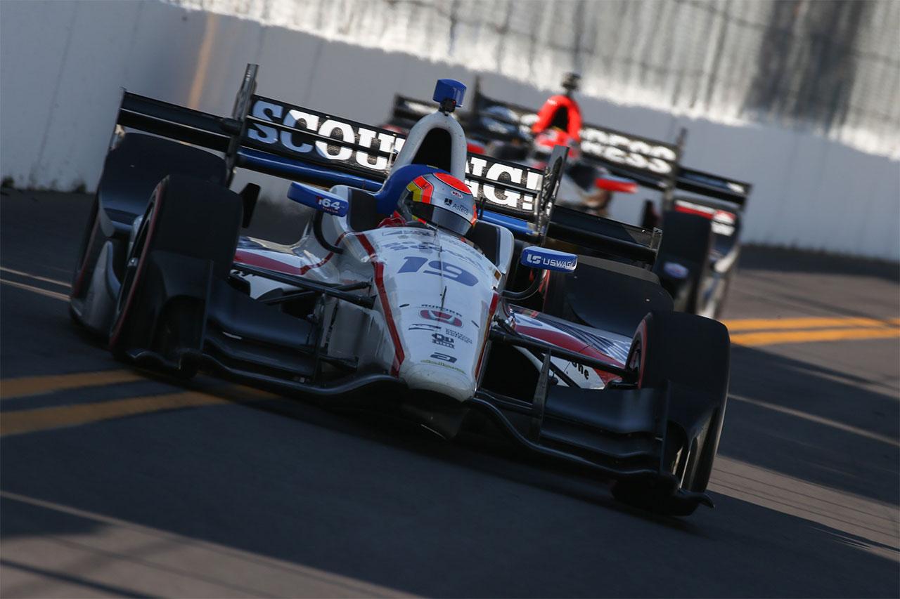 Ed Jones IndyCar Firestone Grand Prix Of St. Petersburg 5