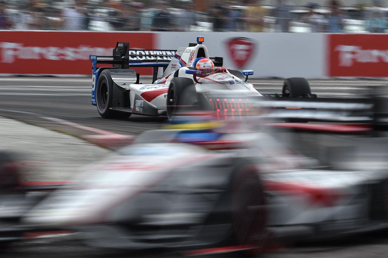 Ed Jones IndyCar Firestone Grand Prix Of St. Petersburg 6