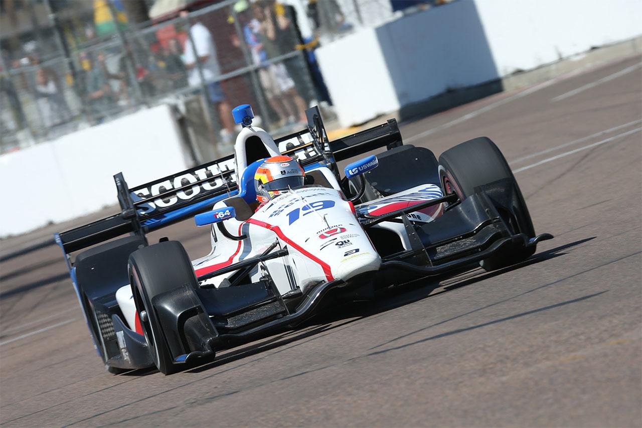 Ed Jones IndyCar Firestone Grand Prix Of St. Petersburg 8