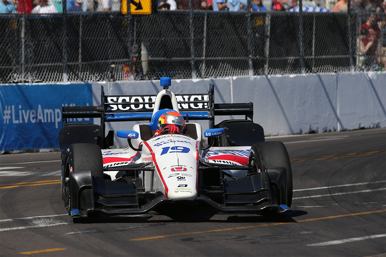 Ed Jones IndyCar Firestone Grand Prix Of St. Petersburg