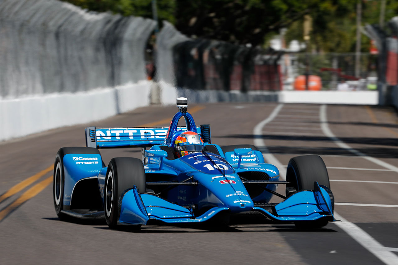 Ed Jones Chip Ganassi Racing Streets Of St Petersburg 2018 1
