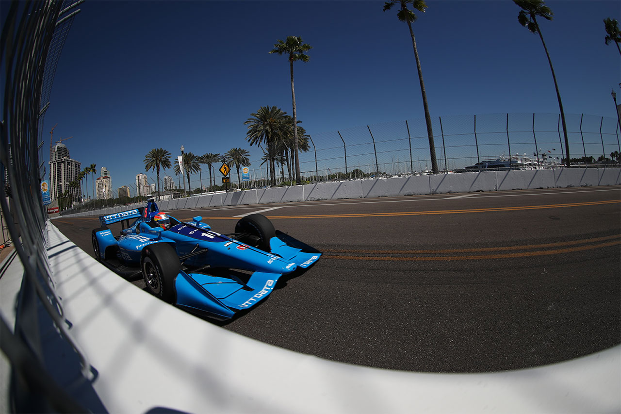 Ed Jones Chip Ganassi Racing Streets Of St Petersburg 2018