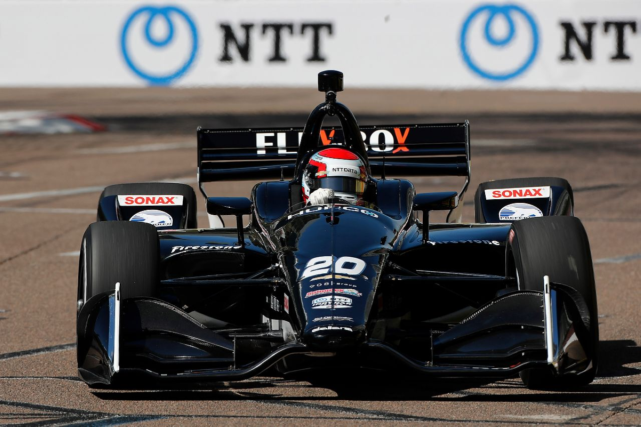 Ed Jones Indycar ST PETERSBURG 2019 005