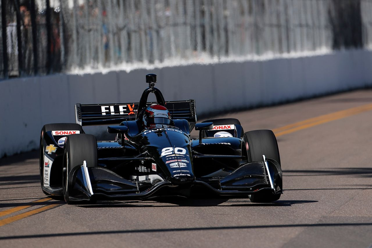 Ed Jones Indycar ST PETERSBURG 2019 006
